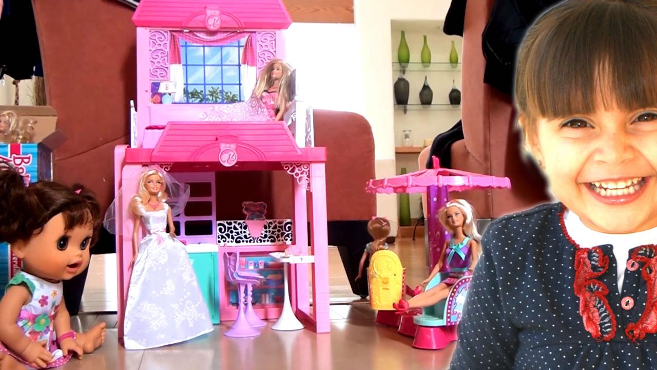 Baby alive casa de la playa barbie volant n tiovivo de barbie - La casa de barbie de juguete ...
